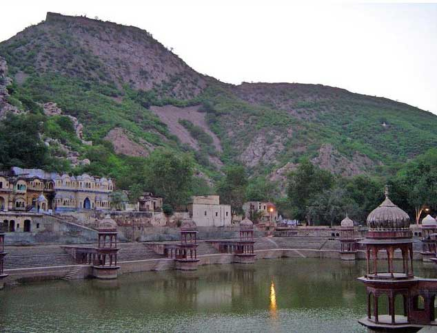 Alwar Hills Lake