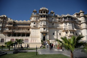 Front View of Udaipur Fort
