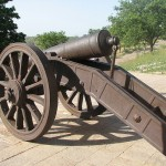 Cannon in Nahargarh Fort