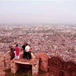 Pink City View From Nahargarh Fort