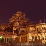 Side View of Albert Hall Jaipur