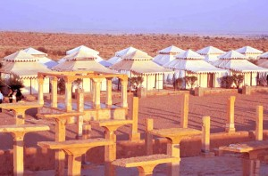 Tent Tour of Jaisalmer