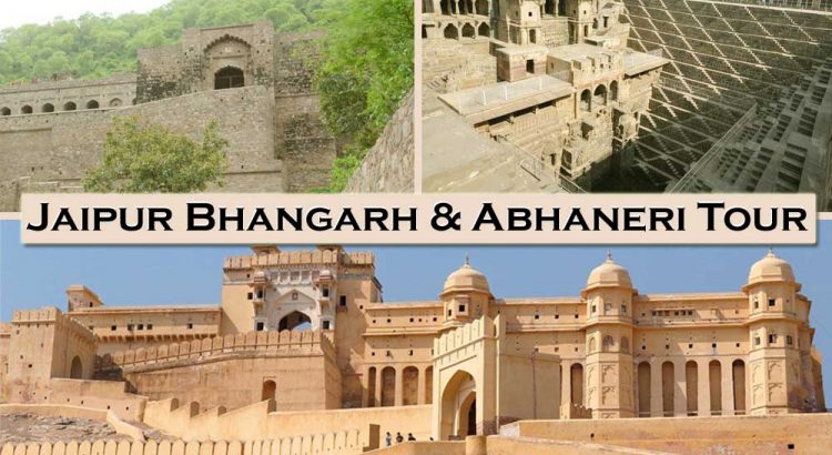 Jaipur Bhangarh & Abhaneri Tour Package