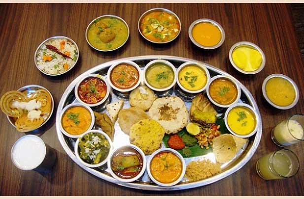 Rajasthani Thali Menu