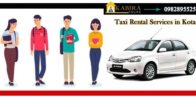 Taxi Rental Service in Kota Rajasthan